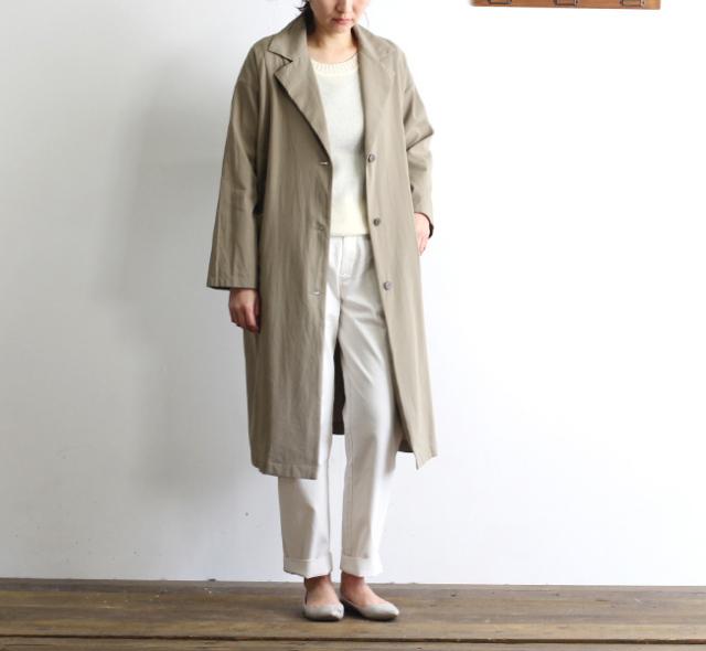 evam eva  エヴァムエヴァ wide trench coat