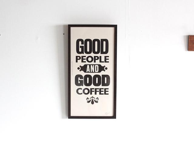 A TWO PIPE PROBLEM LETTERPRESS   GOOD COFFEE Mサイズ
