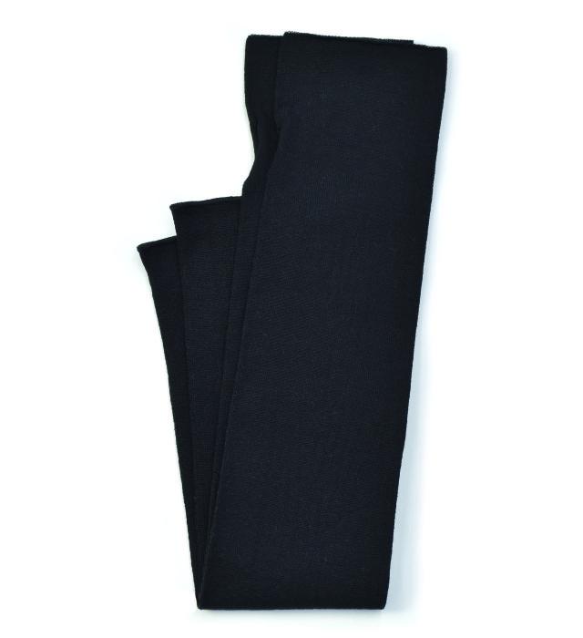シルク糸でつくったニットアームカバー/ブラック