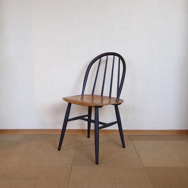Ilmari Tapiovaara / イルマリ・タピオヴァーラ Edsby Verken Fanett ファネットチェア ブラック【バーチ×チーク】