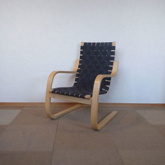 Alvar Aalto / アルヴァ・アアルト アルテック 411 イージーチェア【バーチ】