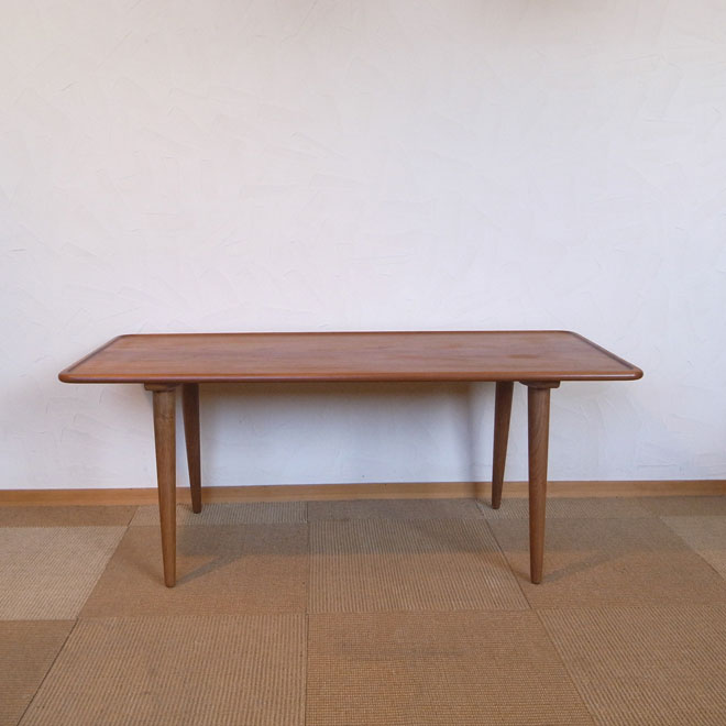 Hans J.Wegner / ハンス・J・ウェグナー アンドレアス・ツック AT18 コーヒーテーブル【チーク×オーク】 北欧ヴィンテージ家具