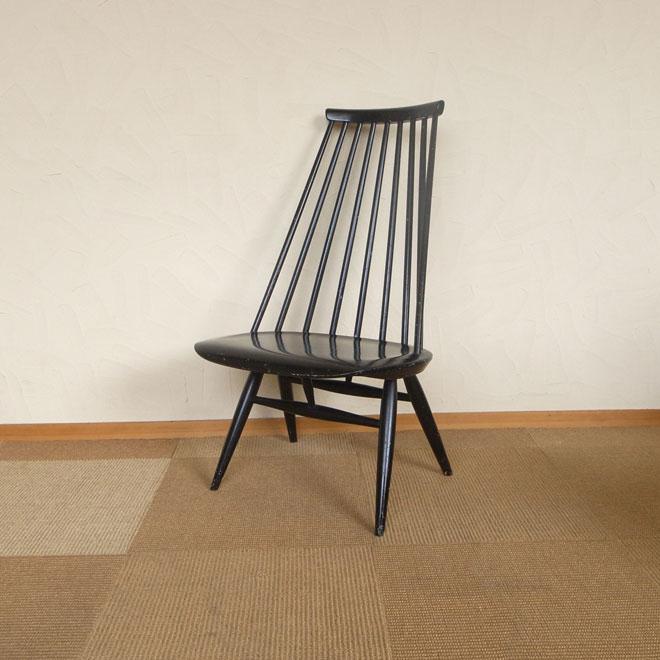 Ilmari Tapiovaara / イルマリ・タピオヴァーラ Edsby Verken  Mademoiselle chair【ブラック】【バーチ】