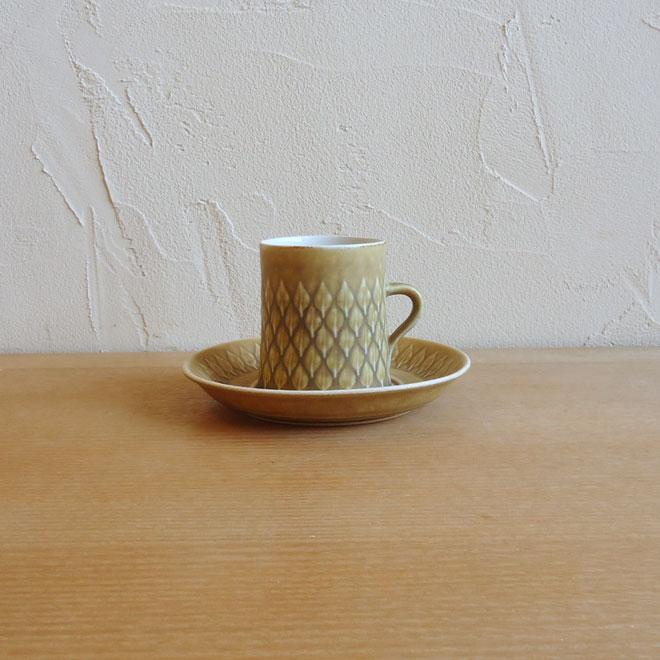 Jens.H.Quistgaard / イェンス・クイストゴー クロニーデン Relief / レリーフ コーヒーカップ&ソーサー