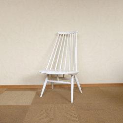 Ilmari Tapiovaara / イルマリ・タピオヴァーラ Edsby Verken  Mademoiselle chair【ホワイト】【バーチ】