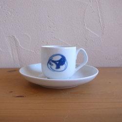 Henning Koppel / ヘニング・コッペル B&G Blue Koppel / ブルーコッペル デミタス カップ&ソーサー 北欧ビンテージ雑貨