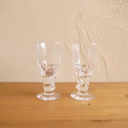 Oiva Toikka / オイバ・トイッカ ヌータヤルヴィ Mukura Schnapps グラス 2個セット