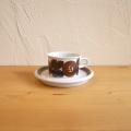 Ulla Procope / ウラ・プロコッペ ARABIA Rosmarin / ロスマリン コーヒーカップ&ソーサー