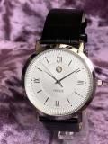 PRINCE 薄型クオーツ腕時計(シルバー)