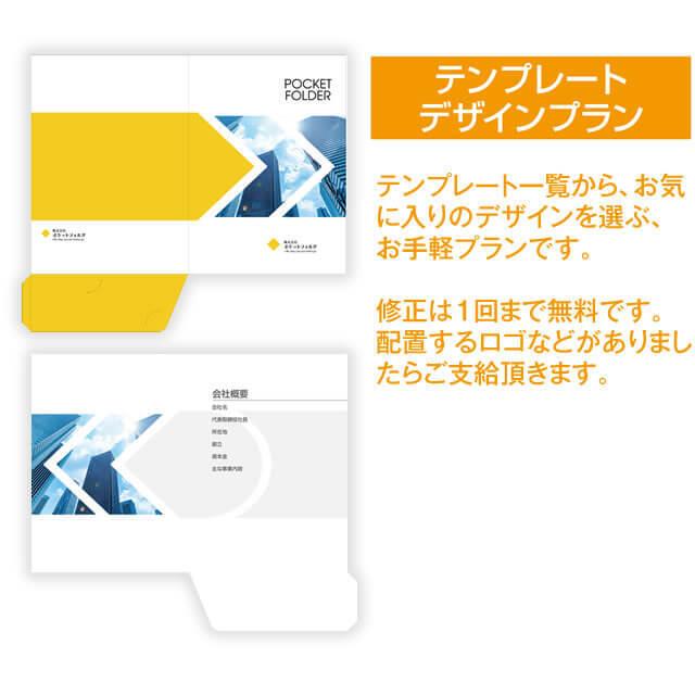 テンプレートデザインプラン紹介とイメージ4