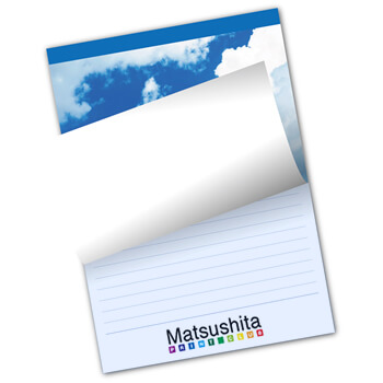 レポート用紙 色上質タイプ 表紙カラー/メモ紙カラー