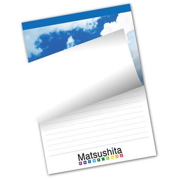 レポート用紙 表紙カラー/メモ紙カラー
