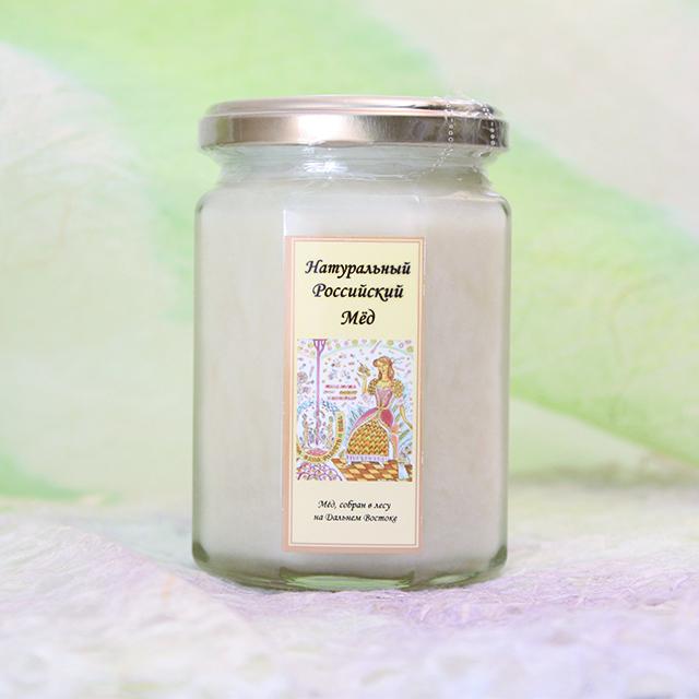 ホワイトハニー クリームリンデン(白い菩提樹の蜂蜜)