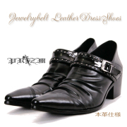 本革Jewelrybelt Dress Shoes