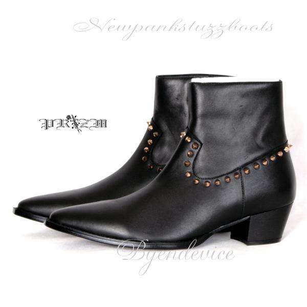 本革New Pank Stuzz Boots メンズブーツ