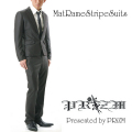 PRiZM Original Suits Mat Rame Stripe