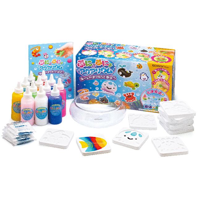 ぷにょぷにょアクアリウム 海のなかまを作って遊ぼう!12色セット