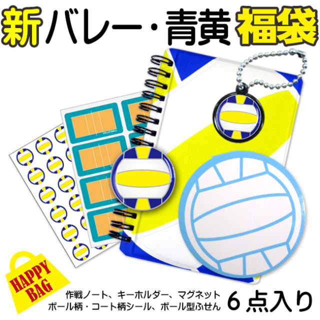 ハッピーバッグ(福袋) バレー 青・黄色