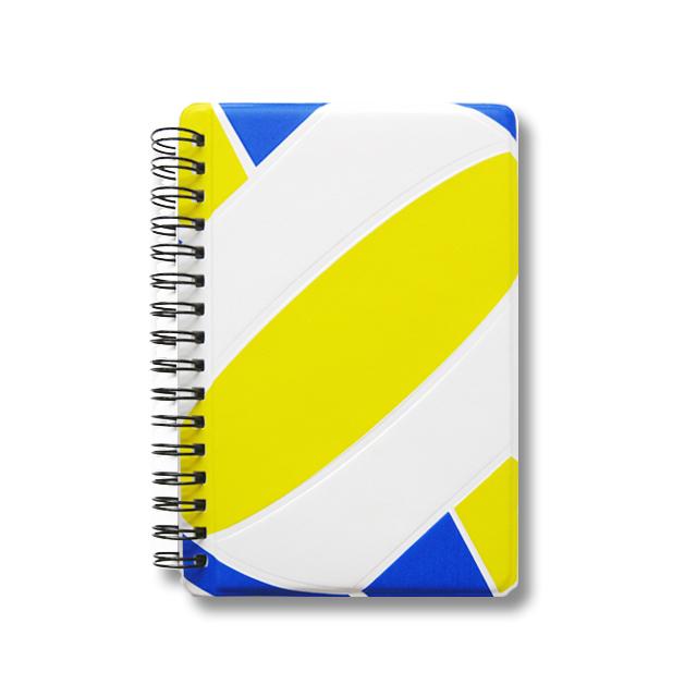 作戦ノート バレーボール青・黄色