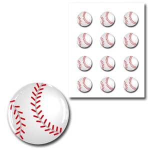 樹脂シール・野球