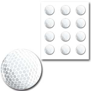 樹脂シール・ゴルフ