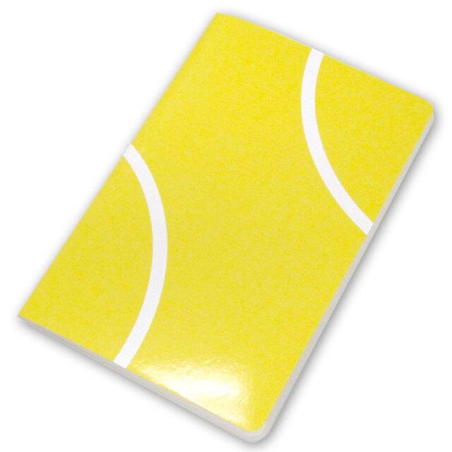テニスノート 作戦ノート テニスボール柄