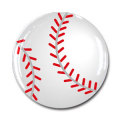 ボール柄 樹脂シール 野球ボール