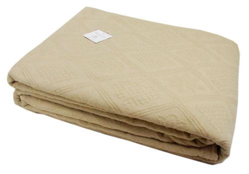 マリネットMARINETTE ベッドカバー、ベッドスプレッド240×260cmサイズ(RIHANNA・ベージュ)CVR_BT_LIT28