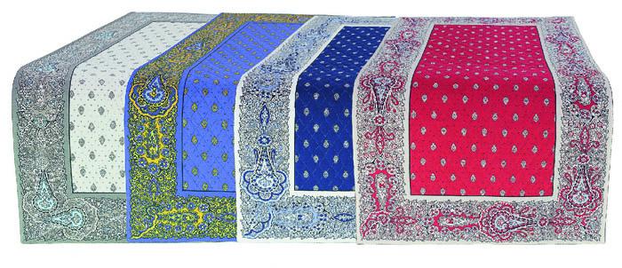 プロヴァンステーブルランナー(Marat d'Avignon バスティード 全4色)全2サイズ CHM_MR_201702 【フランス】