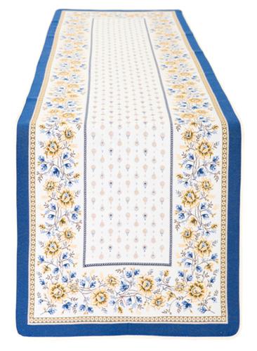 ジャガード織テーブルランナー50×170cmサイズ(MAZAN マザン 全2色) CHM_50  【フランス】