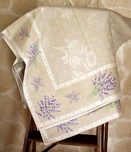 ジャガード織りプリント柄フレームマルチカバー、フレームクロス正方形140×140cmサイズ(ラベンダー2007・ベージュ)CVR_16::他サイズお取り寄せ可能【オーダーメイドも】