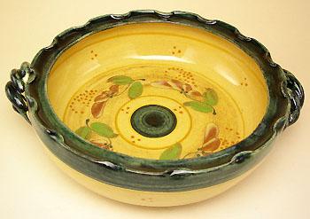 グラタン皿ミディアム(フルール)GRT_RMM