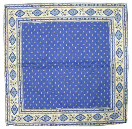 プロヴァンス柄オリジナルクッションカバー45×45cmサイズ(エストレル・ブルー) 【フランス】HOU_C56