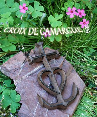 アイアン壁掛け(カマルグ十字 CROIX DE CAMARGUE) CRX_CMR_PM