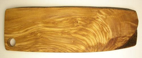 オリーブの木のまな板、オリーブウッドカッティングボード RUSTIQUE変形 PLC_RSTQ_2016_1