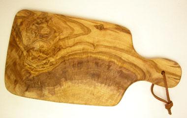 オリーブの木のまな板、オリーブウッドカッティングボードAモデルPLC_A64
