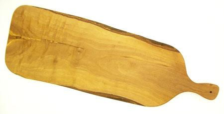 オリーブの木のまな板、オリーブウッドカッティングボードアンティパスト用まな板ロング 50cm PLC_ATP_G2