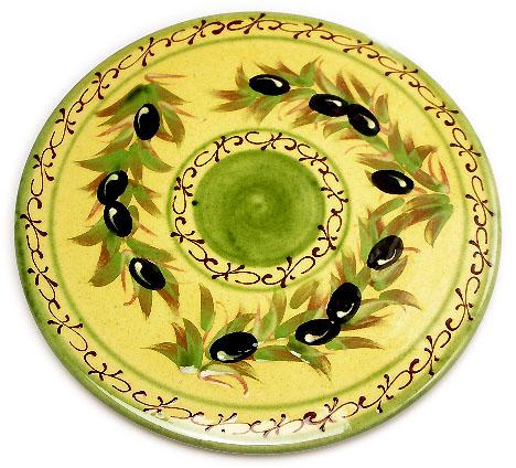 陶製なべしきトリベット(オリーブ)DSP_06