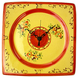 パンデュール:壁掛け時計(マノン・レッド)PDL_03