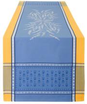ジャガード織りテフロン撥水加工テーブルランナー50×160cmサイズ(Grignan グリニャン・全4色)【フランス】CHM_JCQ05