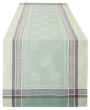 ジャガード織りテフロン撥水加工テーブルランナー50×160cmサイズ(オリヴィア・全3色)【フランス】CHM_JCQ08