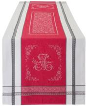 ジャガード織りテフロン撥水加工テーブルランナー50×160cmサイズ(ロマンティック・全2色)【フランス】CHM_JCQ06