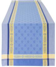 ジャガード織りテフロン撥水加工テーブルランナー50×160cmサイズMarat d'Avignon マラダヴィニョン(ヴォークリューズ・全4色)【フランス】CHM_JCQ07