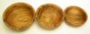 オリーブの木のボウル3セット(13cm、14cm、15cm) BOL_SET02