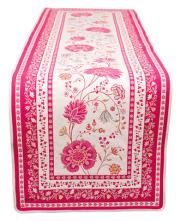 ジャガード織テーブルランナー50×170cmサイズ(MONTESPAN モンテスパン・全2色) CHM_44  【フランス】
