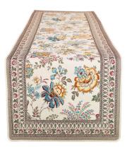 ジャガード織テーブルランナー50×170cmサイズ(GARANCE ガランス・全3色) CHM_49  【フランス】