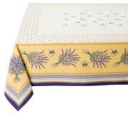 テーブルクロス:マルチカバージャガード織り(CASTILLON カスティヨン・イエロー)全3サイズ【フランス】NAP_C88