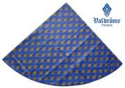 ヴァルドローム VALDROME ラウンド・円形テーブルクロス撥水加工丸テーブル円卓用直径155cmサイズ(Batiste バティスト・ブルー)【フランス】NAP_R225e