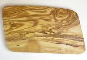 オリーブの木のまな板、オリーブウッドカッティングボード 長方形中サイズ PLC_21