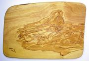 オリーブの木のまな板、オリーブウッドカッティングボード 長方形中サイズ PLC_26